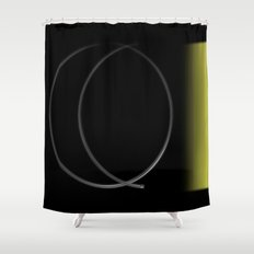 Old Style TV Shower Curtain