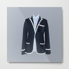 Best Dressed - Blazer Metal Print