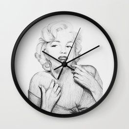 Marilyn Monroe III Wall Clock