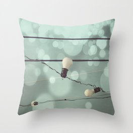 Its Electric Throw Pillow