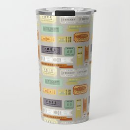 Retro Tickets Travel Mug