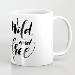 Snow leopard wild and free Coffee Mug