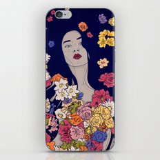 Spring Beauty iPhone & iPod Skin