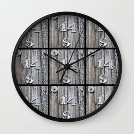 14 Over 9(2) Wall Clock