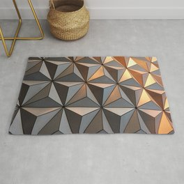 Triangle pattern 3d Rug