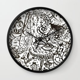 Curious er & Curious er Wall Clock