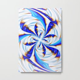 Fractal Artwork Metal Print
