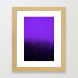 Purple Fog - 2 Framed Art Print
