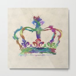 Crown Metal Print