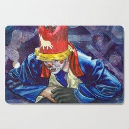 Thinking Clown Cutting Board