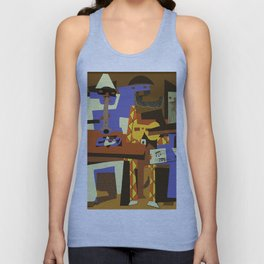 Picasso - The Musician Unisex Tank Top