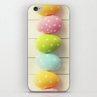 eggs iPhone & iPod Skins featuring EGGS by Ylenia Pizzetti