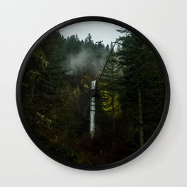 Tucked Away in the Columbia River Gorge Wall Clock