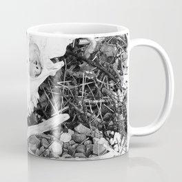The skull on the Loch Coffee Mug