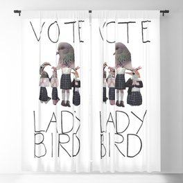 vote lady bird  Blackout Curtain