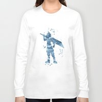 final fantasy Long Sleeve T-shirts featuring Cloud Final Fantasy  by Carma Zoe