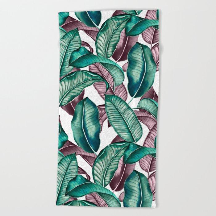 TROPICAL PATTERN-04 Beach Towel