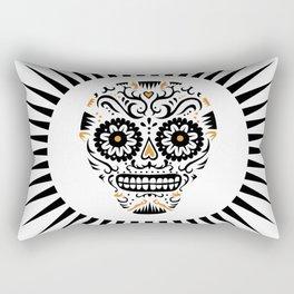 Sugar Skull SF - white Rectangular Pillow