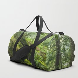 Green forest after raining II Duffle Bag
