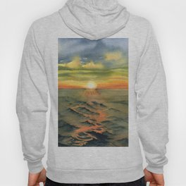 Ocean Sunset Hoody