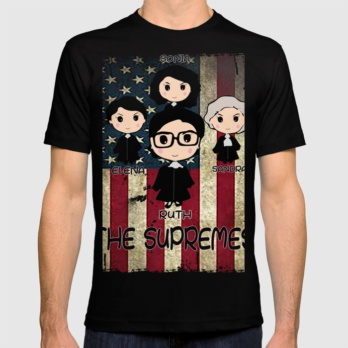 d5efdcf96772 THE SUPREMES Supreme Court Justices RBG vintage USA T-shirt by ...