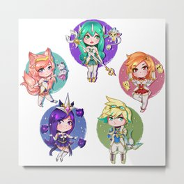 Star guardians Metal Print