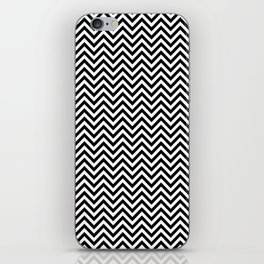 Black and White Chevron iPhone Skin