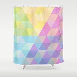 Fig. 027 Hexagon pattern Shower Curtain