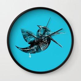 Twitterdactyl Wall Clock