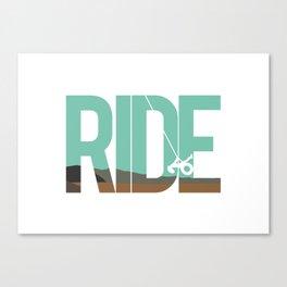 Ride LDR Canvas Print