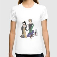 destiel T-shirts featuring Holy Hell Destiel - SPN by venuscas