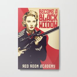 Red Room Academy Metal Print