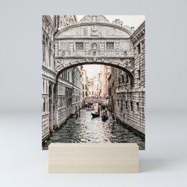 Bridge of Sighs, Venice, Italy (Lighter Version) Mini Art Print
