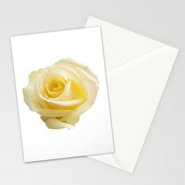 Light Beige Rose Stationery Cards
