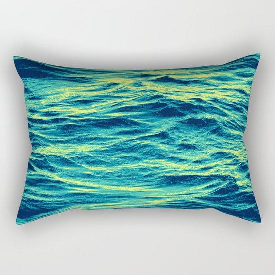 OVER THE OCEAN Rectangular Pillow