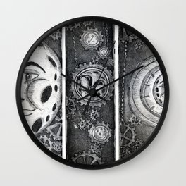 Living the Moontime Wall Clock