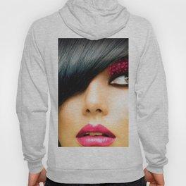 Fashion Brunette Model Hoody