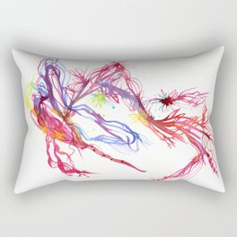 Galactic Blush Rectangular Pillow