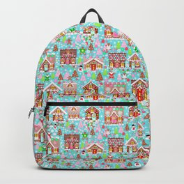 Gingerbread House Christmas Winter Candy, sweets.christmas gift, holiday gift for kids of all ages, Backpack