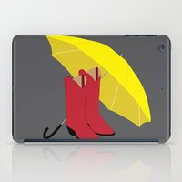 himym iPad Cases featuring HIMYM Couples - Ted & Mother by Raye Allison Creations