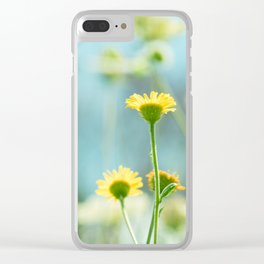 Afternoon in the meadow Clear iPhone Case