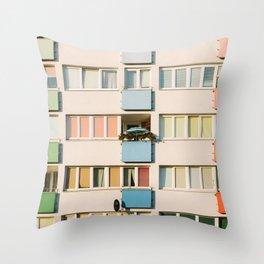 Apartment Life Throw Pillow