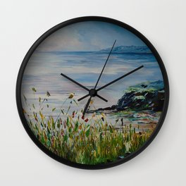 Red sails, Galway Bay Wall Clock