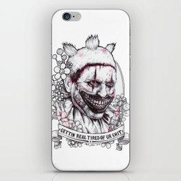 xoxo Twisty iPhone Skin