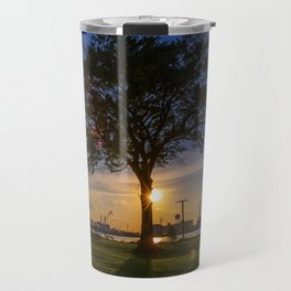 Sunset At Elizabeth River Park Travel Mug