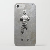 han solo iPhone & iPod Cases featuring Han Solo Carbonite by Inara