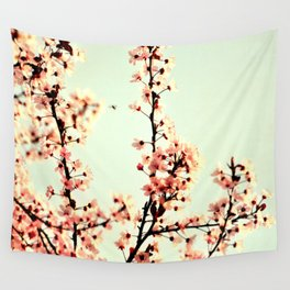 SUBTLE BLOSSOM Wall Tapestry