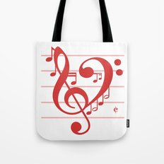Love Music ~ Valentines Edition ~ Tote Bag