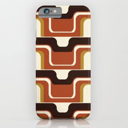 Mid-Century Modern Meets 1970's iPhone Case