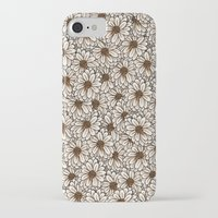 daisies iPhone & iPod Cases featuring Daisies by Marta Li